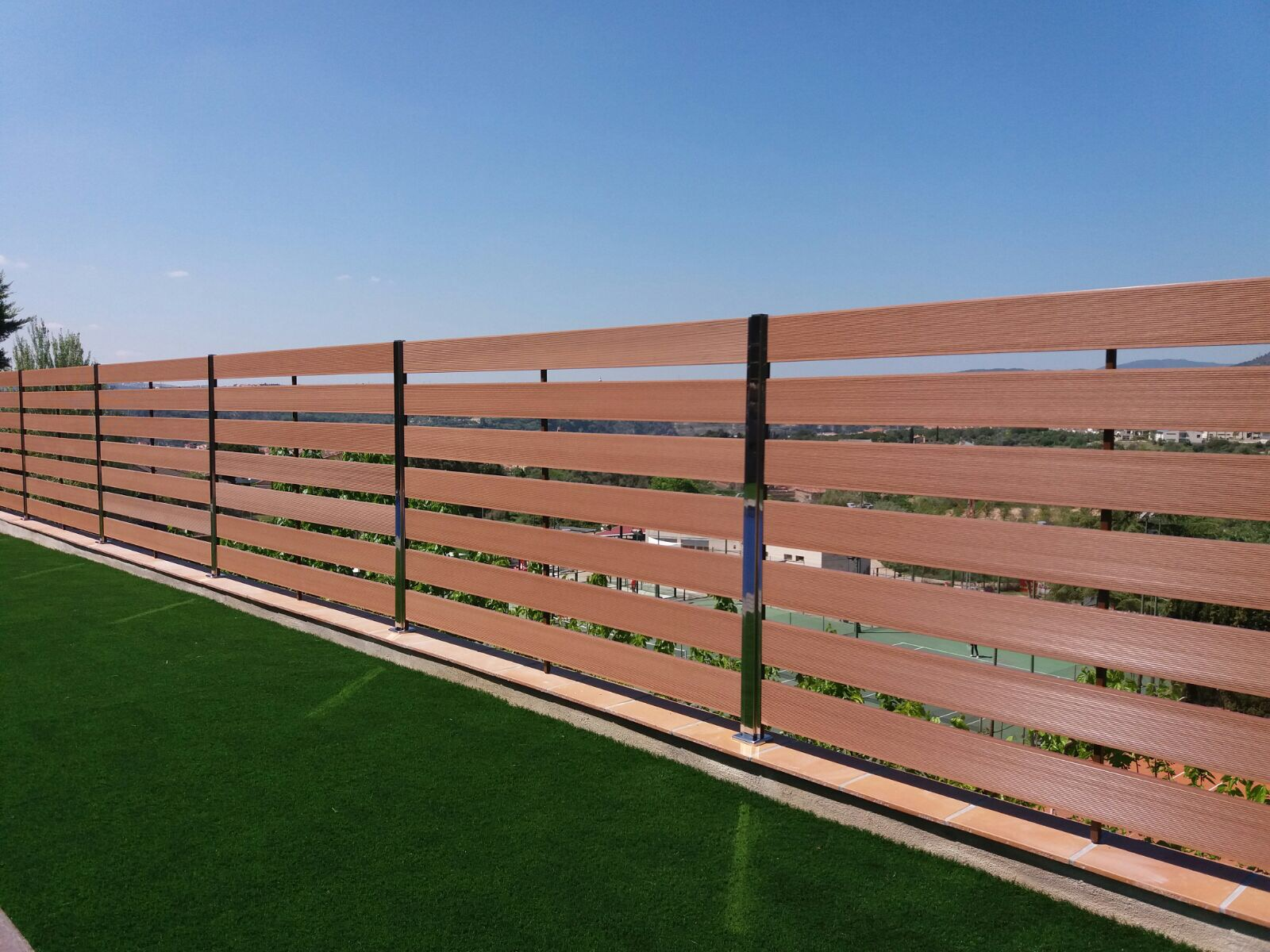 Valla terraza vallas para aticos terraza con valla de for Vallas de madera para piscinas