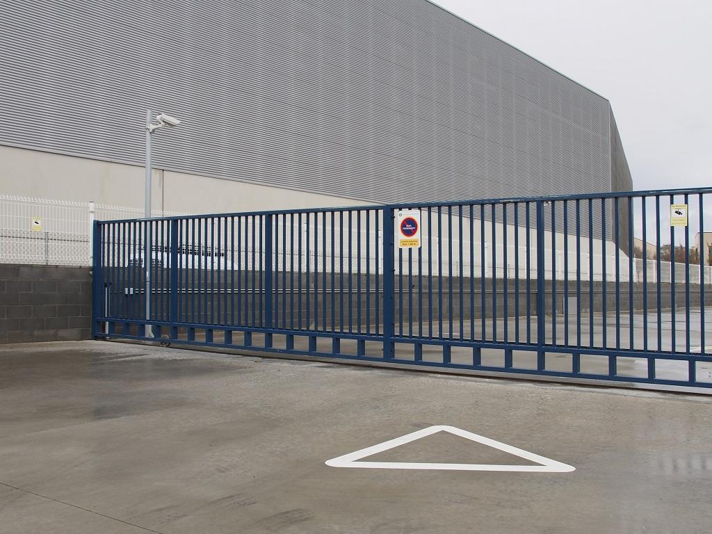 Puertas Metalicas Mallarapid Mallas Electrosoldadas - Puerta-corredera-metalica